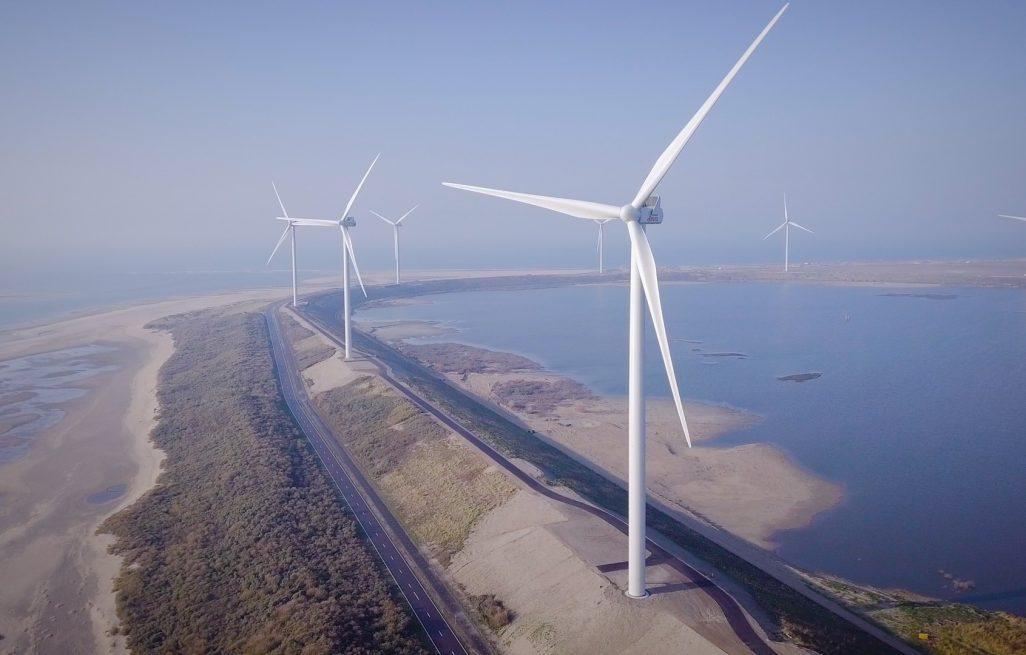 Eneco realiseert <br> windpark op <br> Maasvlakte 2