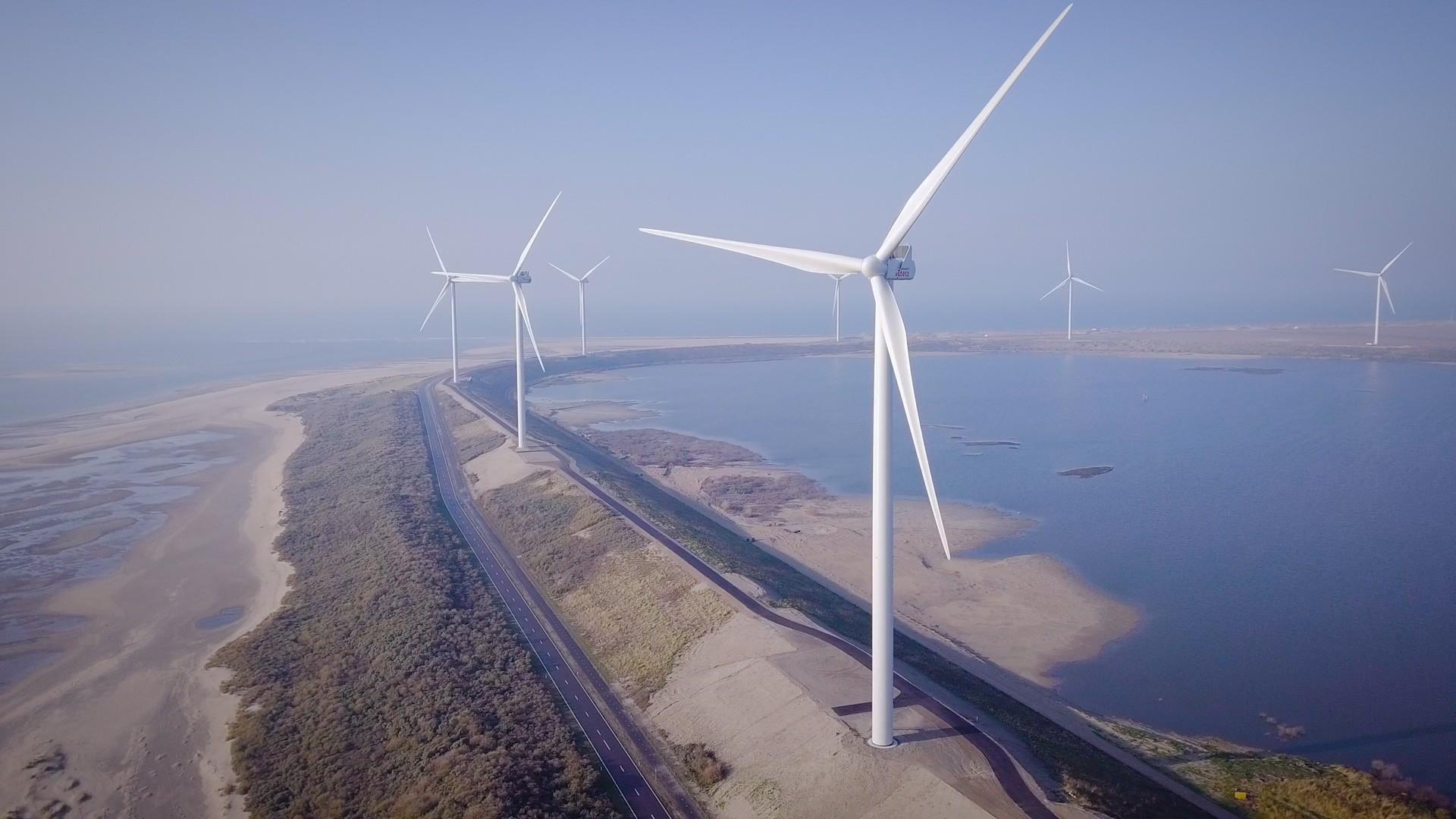 Eneco realiseert windpark op <br> Maasvlakte 2