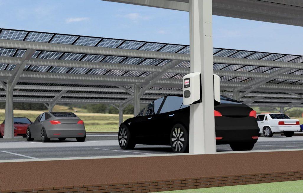 'Powerparking' bij gemeentehuis Dronten