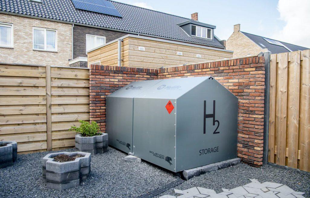 Waterstof als duurzame <br> energiebron voor <br> huishoudens